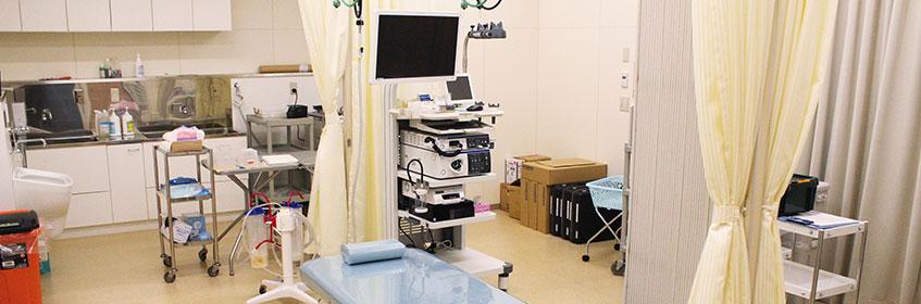消化器内科診療風景